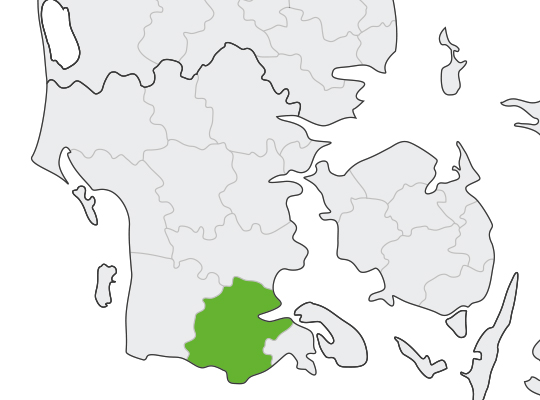 Aabenraa i Syddanmark er samlet blevet nr. 17