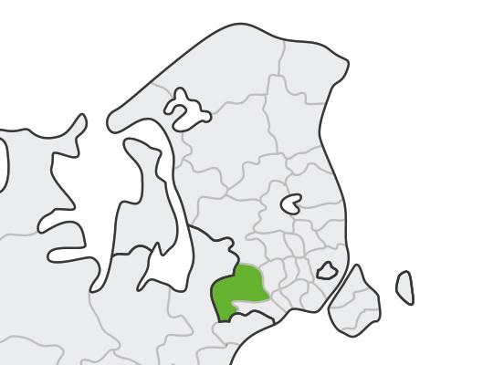 Høje-Taastrup i Hovedstaden er samlet blevet nr. 12