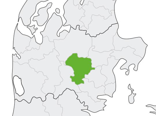 Silkeborg i Midtjylland er samlet blevet nr. 53