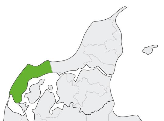 Thisted i Nordjylland er samlet blevet nr. 9