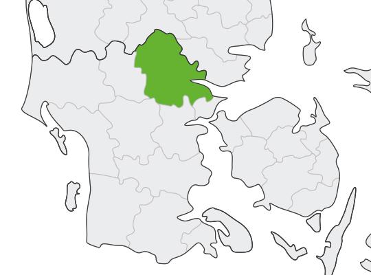 Vejle i Syddanmark er samlet blevet nr. 3